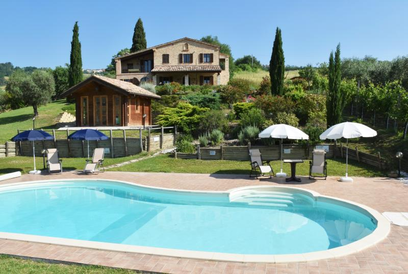 Casa Tranquilla with its Lovely Pool and Garden