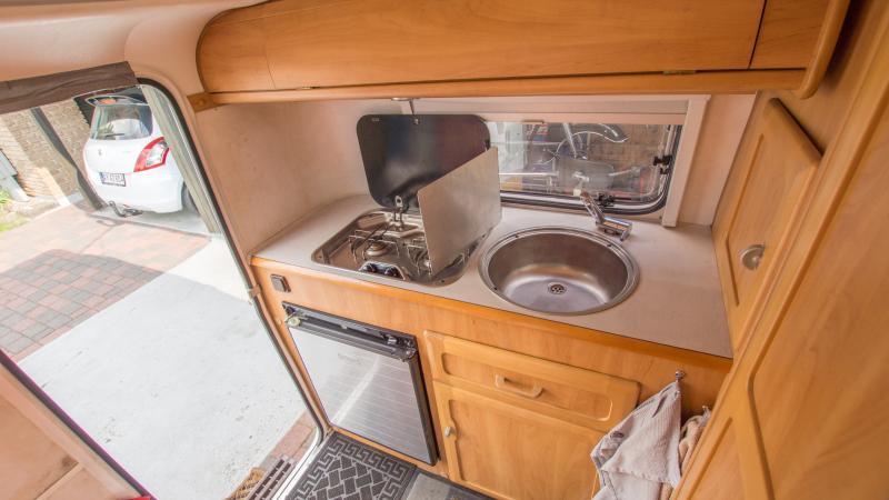 Caravan kitchen