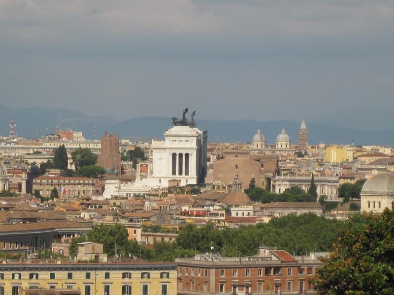Roma, passeggiata del gianicolo