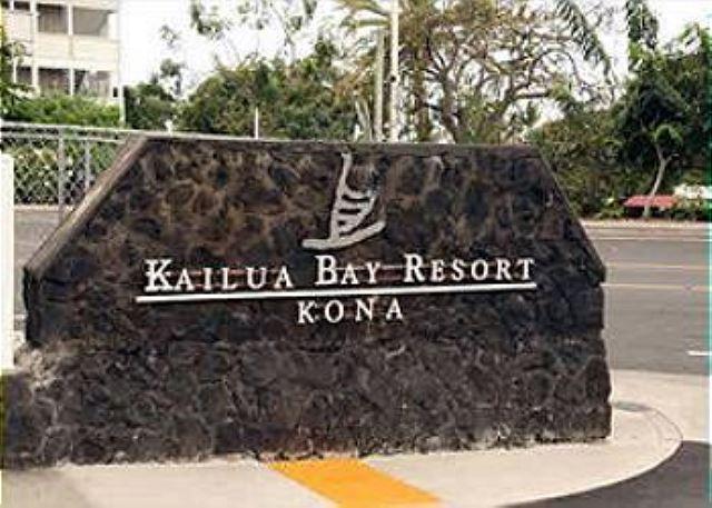Kailua Bay Resort Entrance