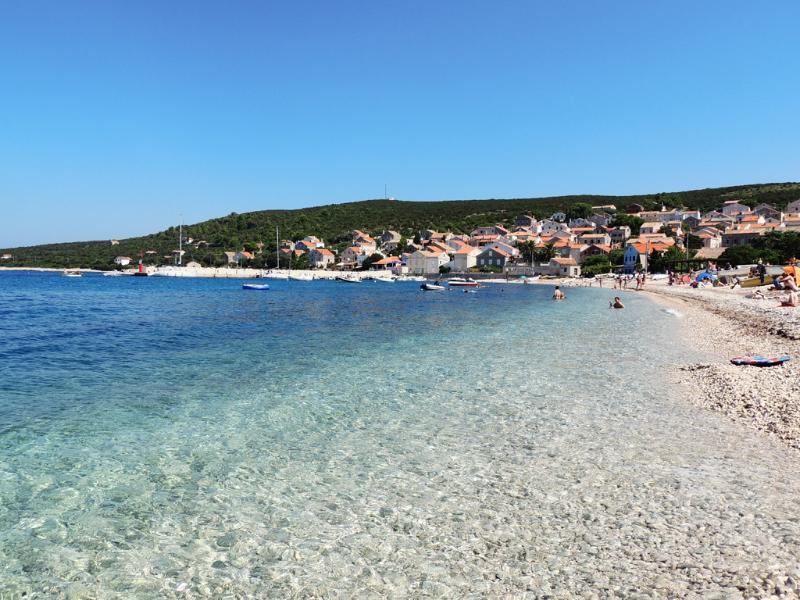 Unije famous beach