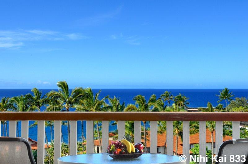 View from Nihi Kai 833's Lanai.
