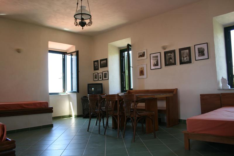 Flat in traditional Mani tower (1st floor), location de vacances à Avia