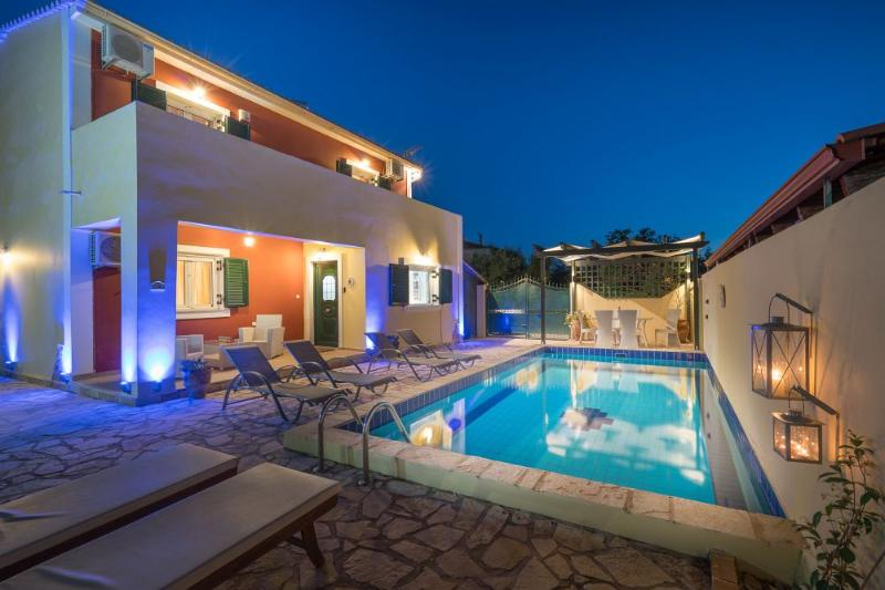 Arge Villa - 3 Bedrooms and Private Pool, holiday rental in Zakynthos Town