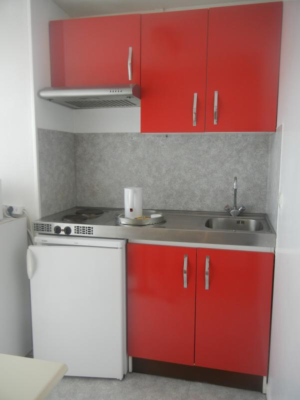 equiped kitchen in Residence Les Temporis