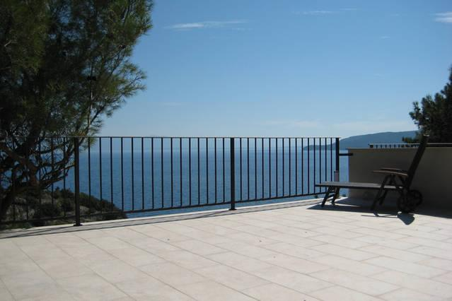 Villa Casako - direkt am Meer, holiday rental in Filozici