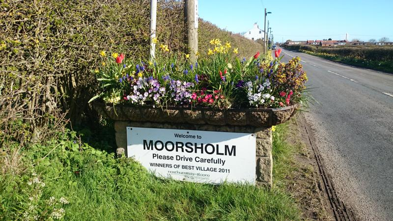 Moorsholm has a reputation for best kept village having won many competitions. N.G.S day 17.07.16