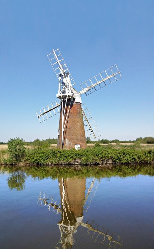 Local windmill at How Hill