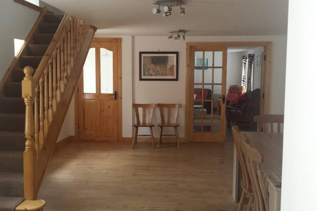 Spacious downstairs and all rooms suitable for limited mobility.