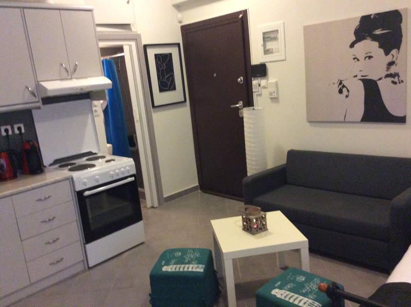 Sitting room/ kitchen area