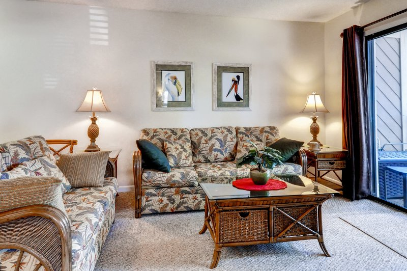 You'll feel right at home in this Hilton Head Island vacation rental condo!