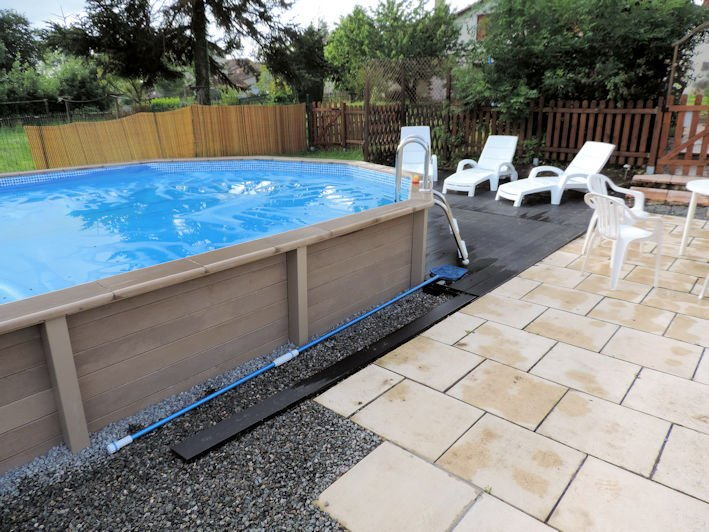 Our 7m x 4m pool for your sole use.