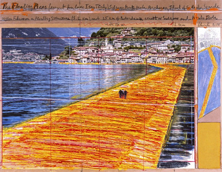 The floating Piers 18/06/16-03/07/16