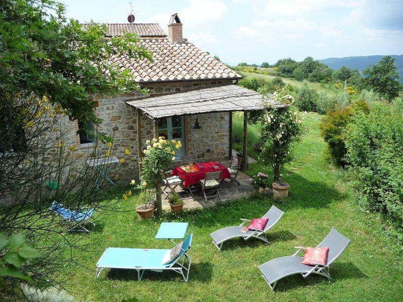 Zolferate, private garden