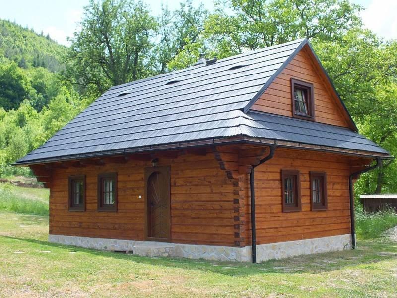 Drevenica Ľudmilka – semesterbostad i Banska Bystrica Region