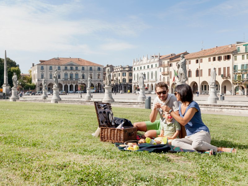 Blivin project: pic nik in Prato della Valle