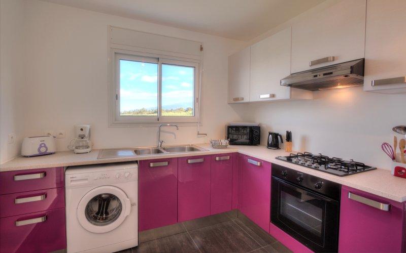 L'Oasis de Terre Rouge - Appartement Jacaranda - cuisine