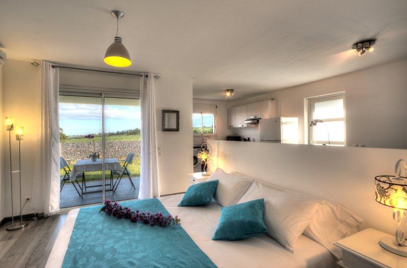 L'Oasis de Terre Rouge - Appartement Jacaranda - Chambre