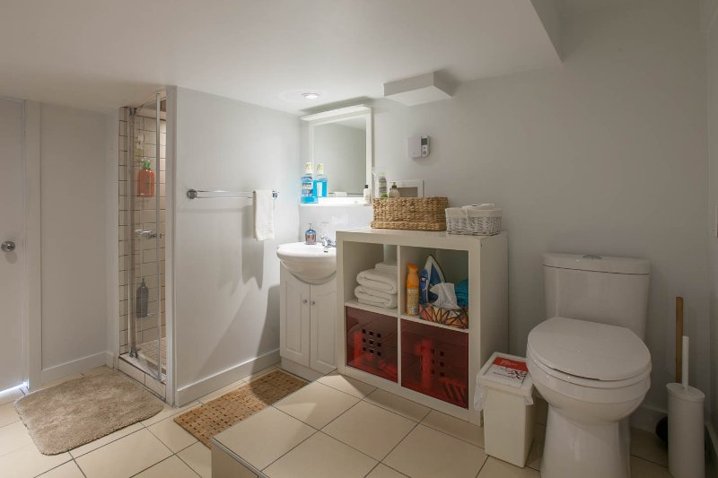 Basement complete bathroom