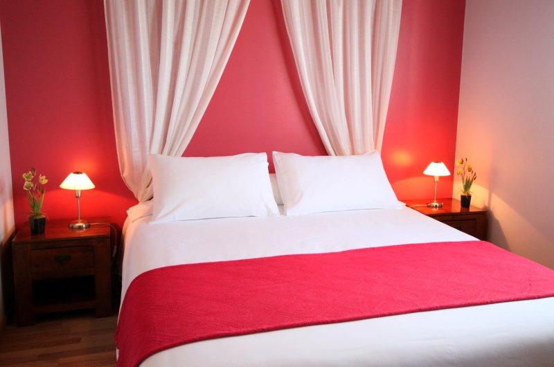 L'Oasis de Terre Rouge - Appartement Hévéa - Chambre