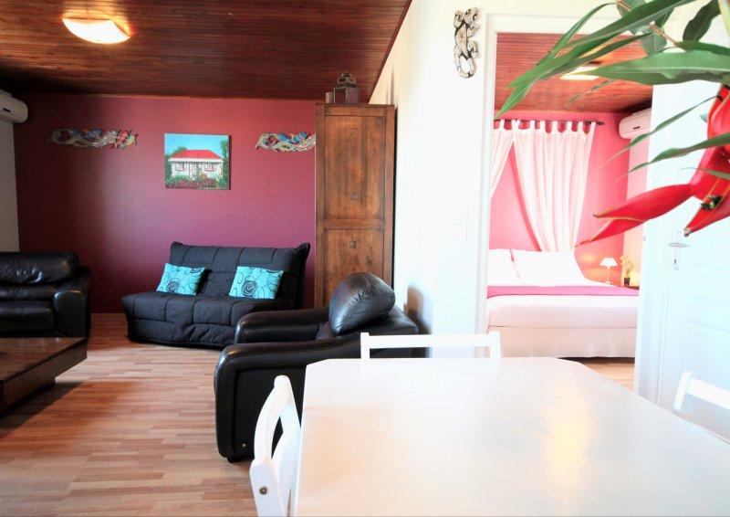 L'Oasis de Terre Rouge - Appartement Hévéa - Vue d'ensemble