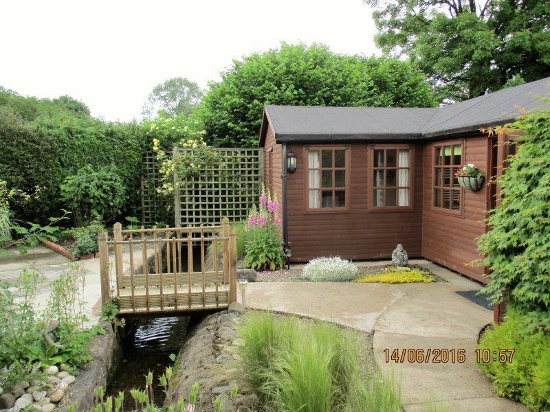 The Garden Lodge, location de vacances à Llandrinio