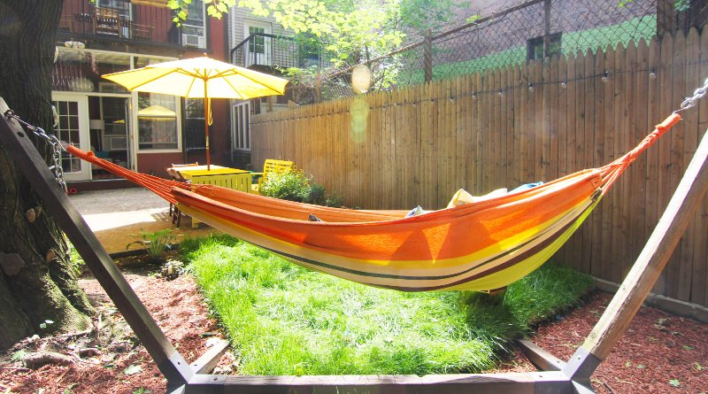 Your own private garden in Manhattan (inc. Hammock!)