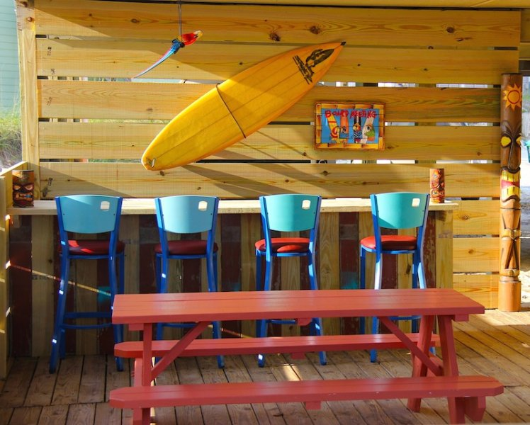 Our new tiki hut  is spectacular, family friendly and ready for action!