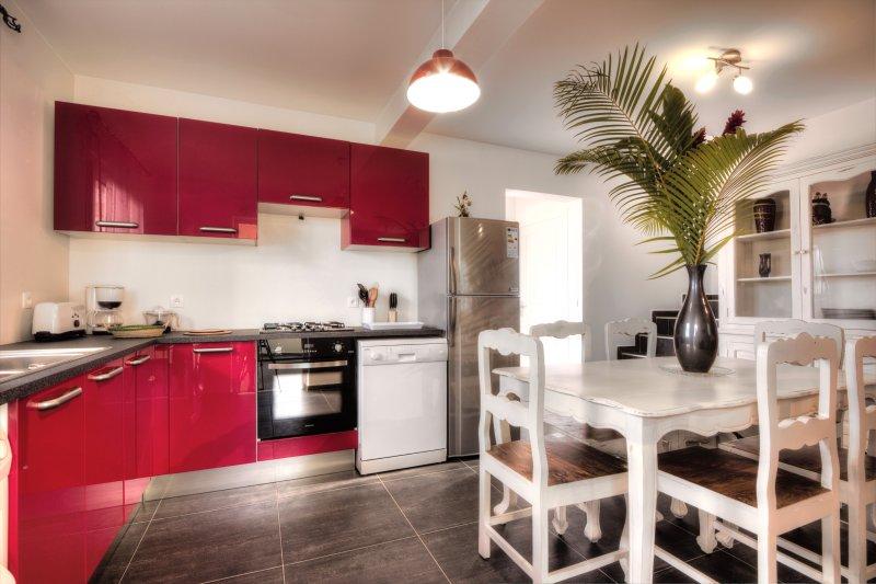 L'Oasis de Terre Rouge - Villa Flamboyant - Cuisine