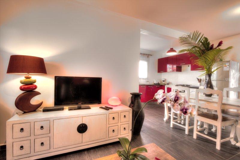 L'Oasis de Terre Rouge - Villa Flamboyant - Séjour