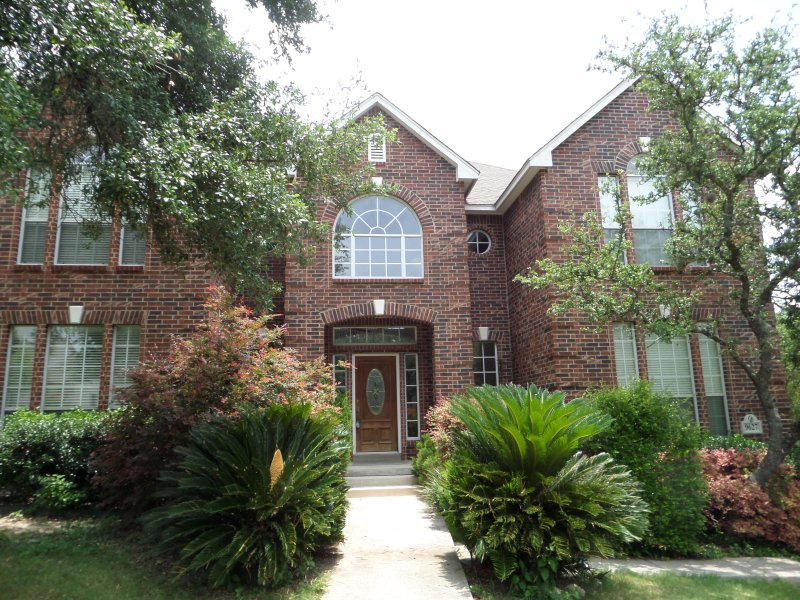 Two story 3850 sf home on the border between San Antonio and Helotes