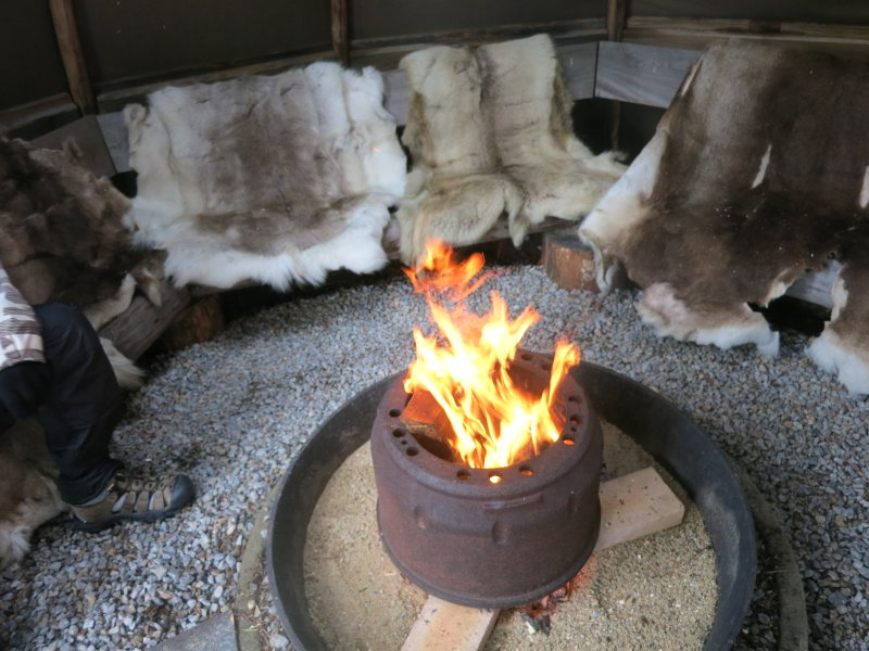 Fire in the tipi