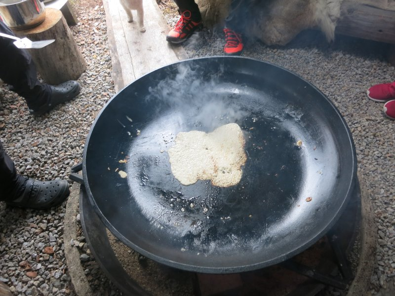 Pancake orgy tipi