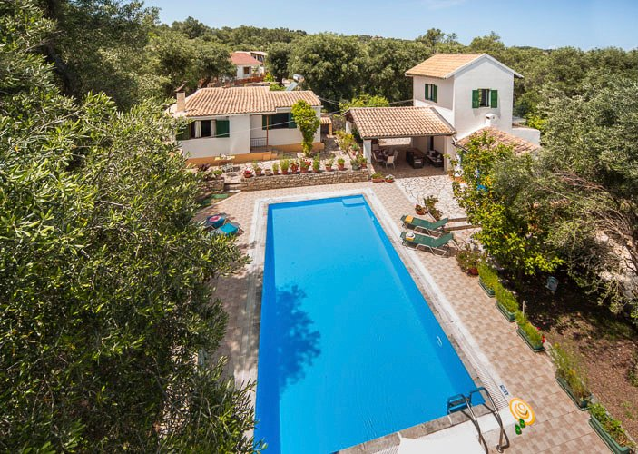 Villa Marguerita, Dendiatika, Loggos (Sleeps 2-6), vacation rental in Loggos