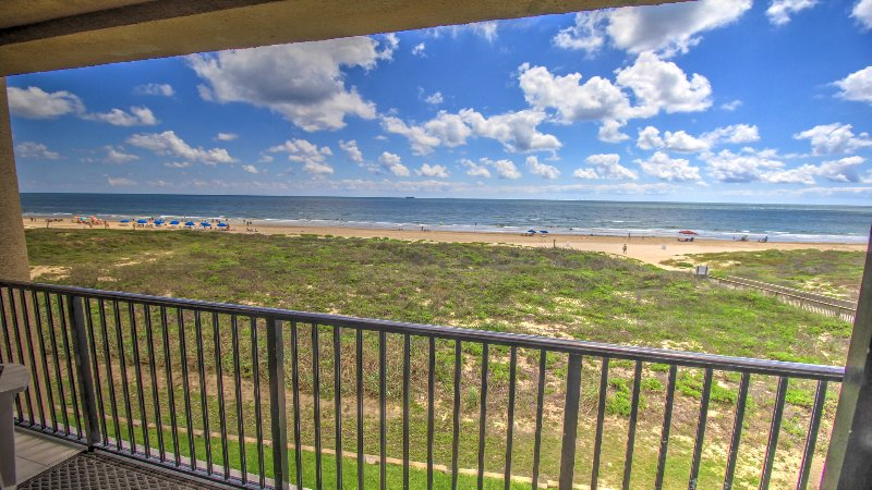 3rd floor elevation has a great full view of the Ocean, not obstructed by sand dunes.