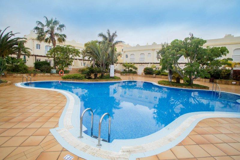 Complex swimming pool