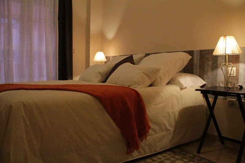 Hauptschlafzimmer mit Doppel 1,50.