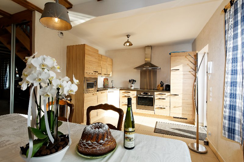 Gîtes 6 personnes Au Bouquet de Houblon 4*, holiday rental in Ohlungen
