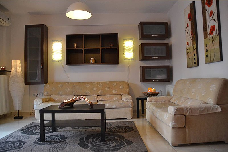 Holiday Apartment!  With 2 big individual bedrooms, holiday rental in Kitros