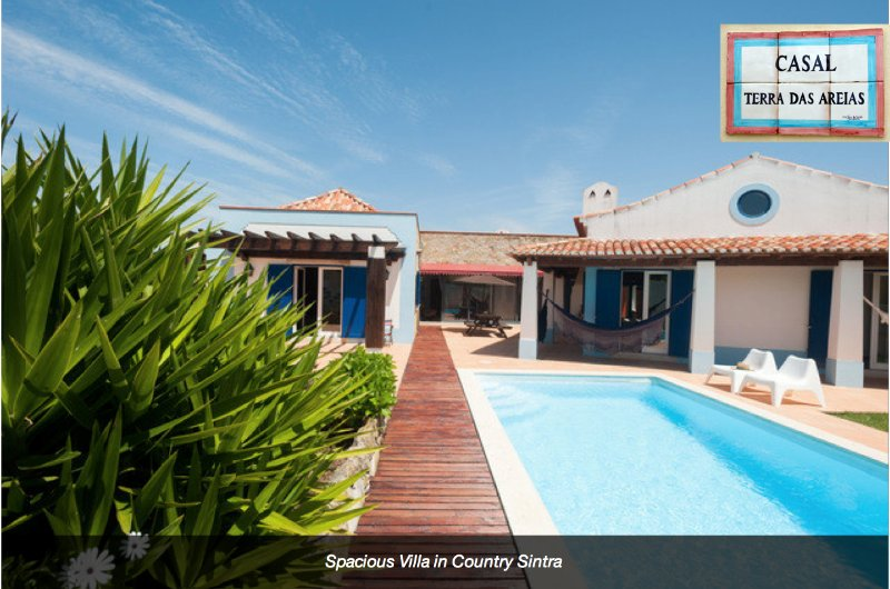 Spacious Villa in Country Sintra, vacation rental in Sintra