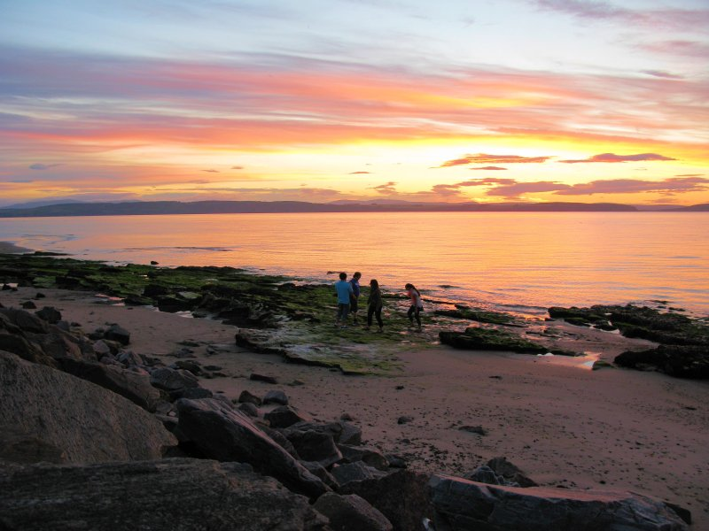 Twilight on Nairn West Beach