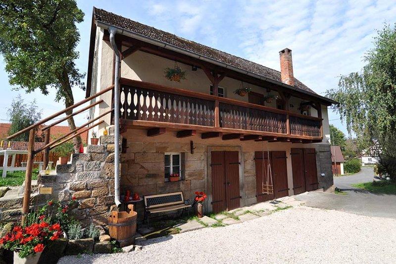 Landhaus Sahrhof, casa vacanza a Fichtelberg