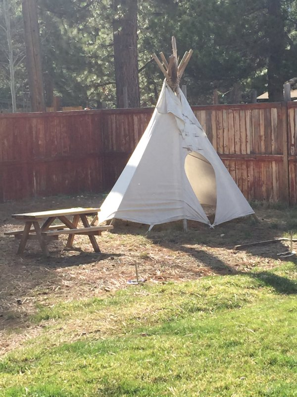 Authentic Cheyenne Tipi