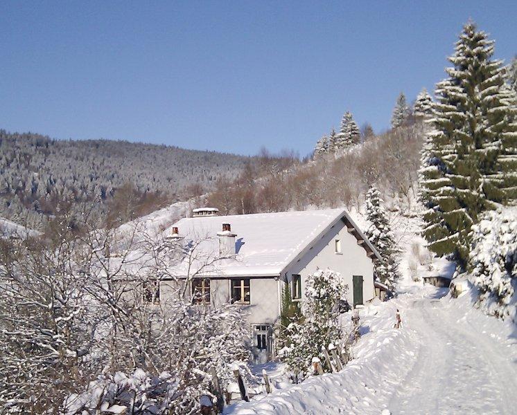 Ferme à Jacques - Gîte Les Pistes avec sauna en Hautes Vosges, holiday rental in Husseren-Wesserling