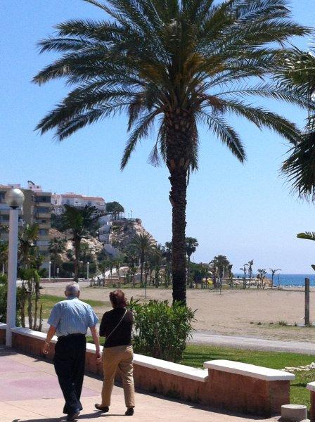 Playa y paseo en Calaflores