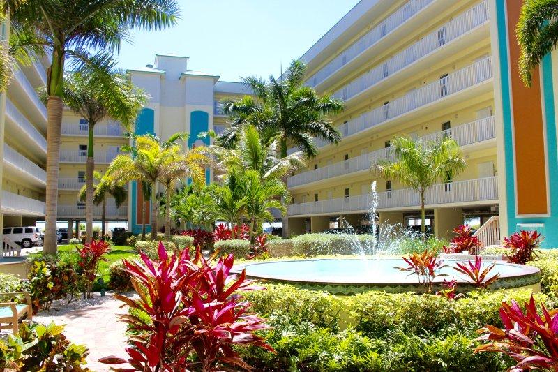 patio de estilo tropical