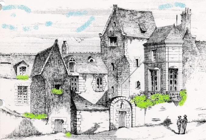 Le Petit Logis de Tinteniac, location de vacances à Angers