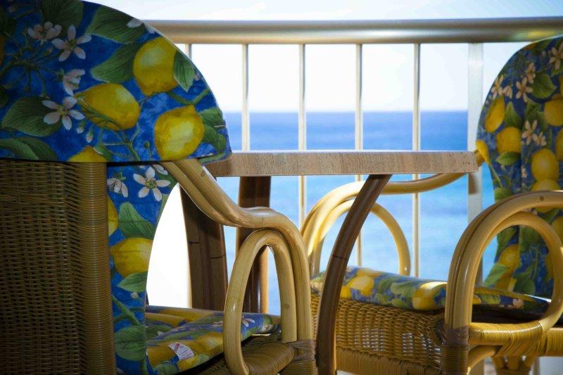 1 chambre appartement, vue sur la mer