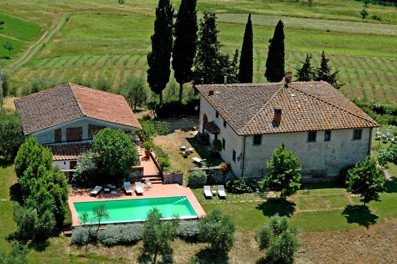 Casa Colonica Borgo Basso, vakantiewoning in Barberino Val d'Elsa