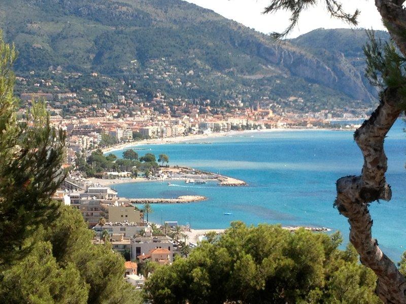 Appart panoramique mer piscine monaco montagnes, vacation rental in Roquebrune-Cap-Martin